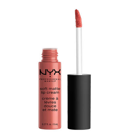 NYX Matte Lip Cream in Cannes. Image via NYX.