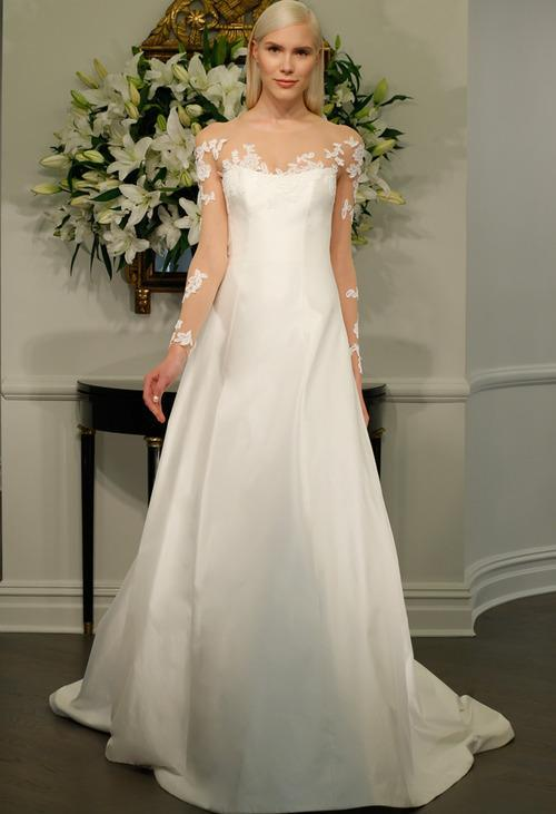 A Wedding Dress Collection Inspired by Audrey Hepburn