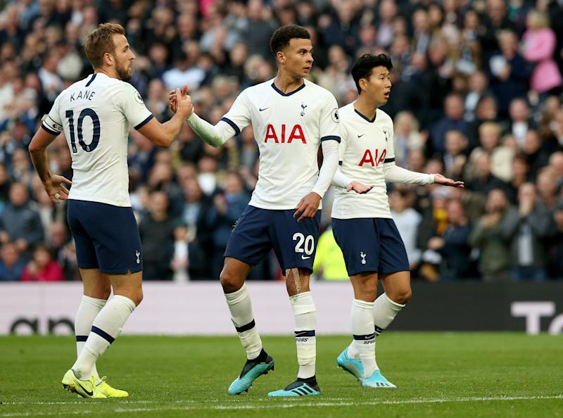 Dele Alli's goal was awarded in controversial circumstances (Jonathan Brady/PA Wire)