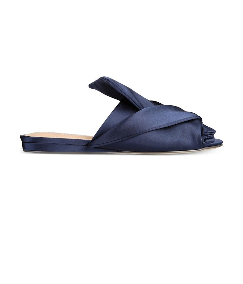 "<p>Charles by Charles David Mya Satin Sandals, $79, <a rel=""nofollow"" href=""https://www.macys.com/shop/product/charles-by-charles-david-mya-satin-sandals?ID=4802106&cm_mmc=Polyvore-_-Polyvore_Women+Shoes_PLA-_-n-_-sanda"">macys.com</a> </p>"