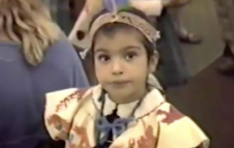 Throwback: How cute is young Kimmy K. Source: Twitter