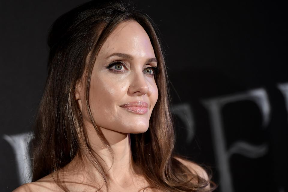 Angelina Jolie is known for her famously plump lips