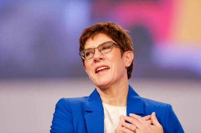CDU leader Annegret Kramp-Karrenbauer has had a rocky first year at the helm since taking over the party leadership from Angela Merkel (AFP Photo/Odd Andersen)