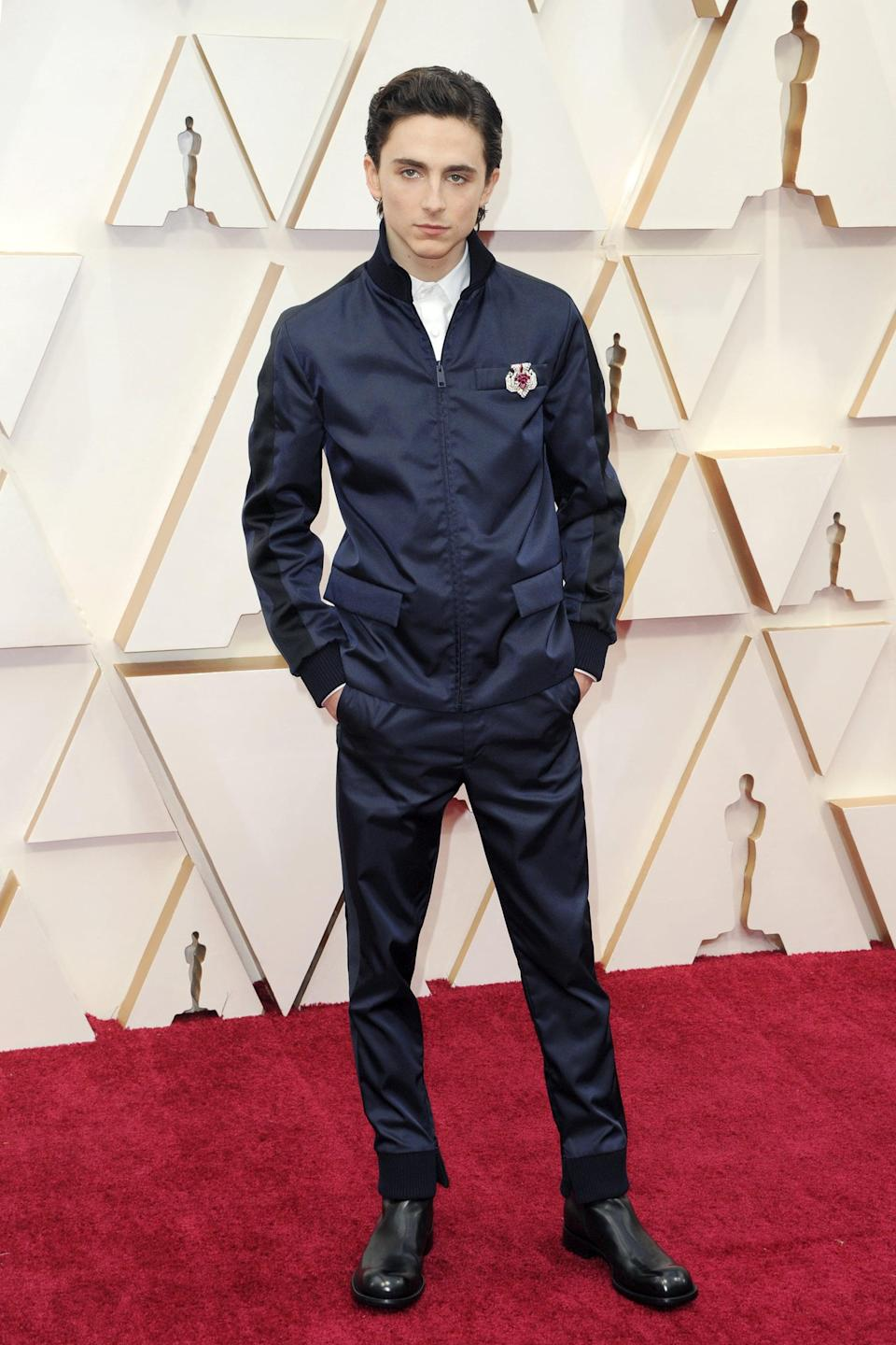 "<p>American actor and Academy Award nominee <a href=""https://www.popsugar.com/fashion/timothee-chalamet-style-46883423"" class=""link rapid-noclick-resp"" rel=""nofollow noopener"" target=""_blank"" data-ylk=""slk:Timothée Chalamet"">Timothée Chalamet</a> will attend the Met Gala for the first time as cochair.</p>"
