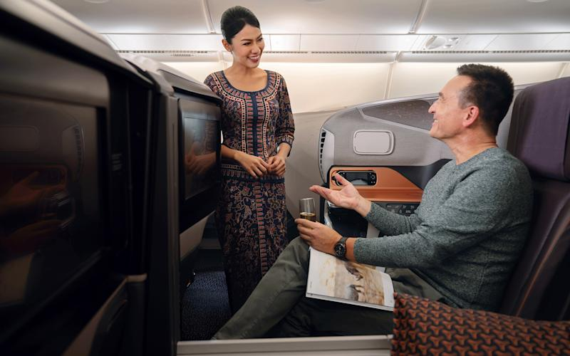 Singapore Airlines, like the rest of the aviation industry, is staring into the abyss