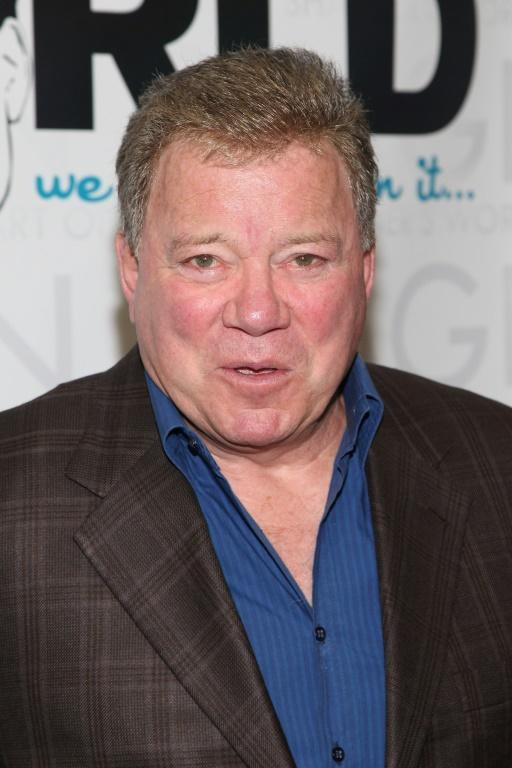 Actor William Shatner, seen here in 2012, will reportedly be on board the next Blue Origin flight, according to TMZ (AFP/Taylor Hill)