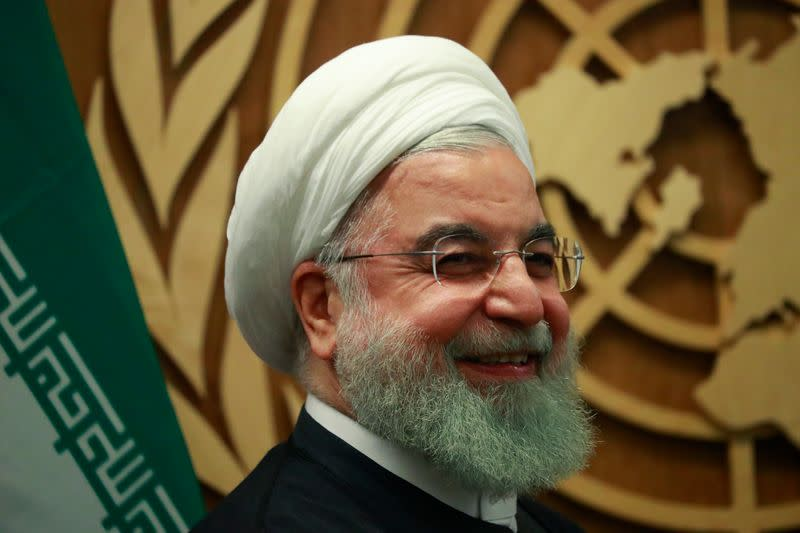 Iran's Rouhani: Talks possible if U.S. returns to 2015 nuclear deal
