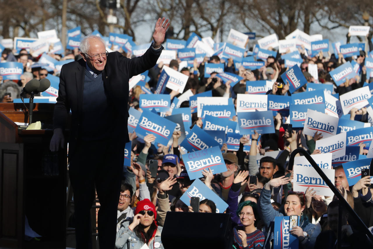 Sanders, Biden up attacks as head-to-head race takes shape