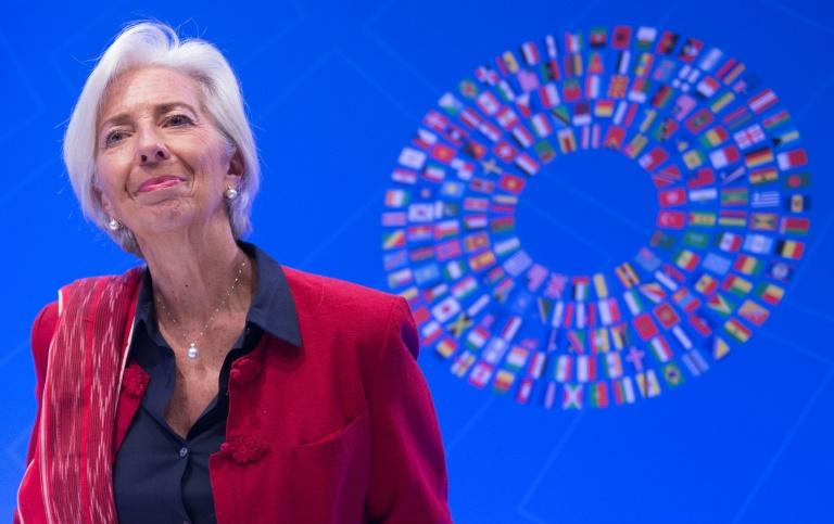 IMF Managing Director Christine Lagarde said it was important to resolve trade disputes before they impact growth