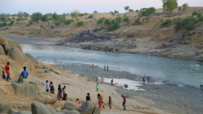 Fighting has forced people in Tigray to flee over the border into Sudan