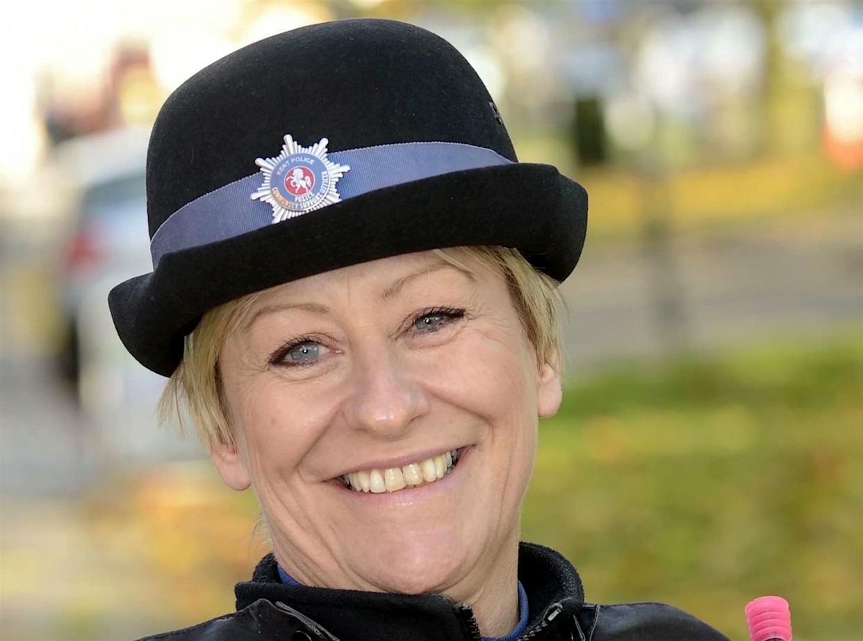 PCSO Julia James, pictured in 2013. (SWNS)