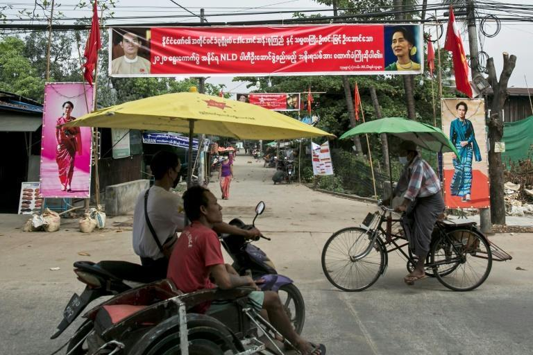 The recent elections were won by Aung San Suu Kyi's government by a landslide, but the military's recent comments have spurred fears of a coup