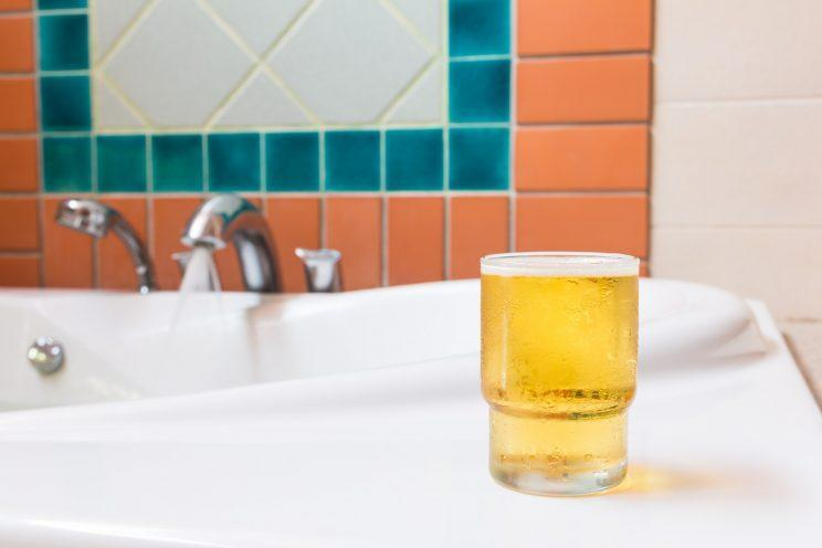 Can a beer bath be good for your skin?