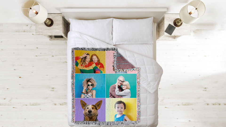 Best photo gifts of 2020: Woven Image Throw Blanket