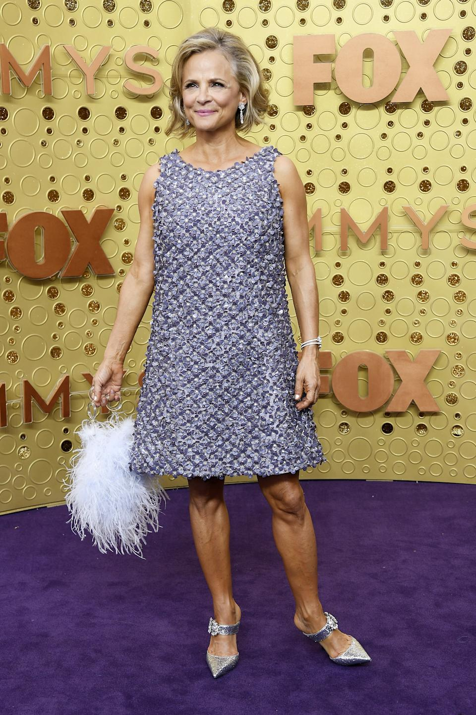 """<h1 class=""""title"""">Amy Sedaris in custom Adam Selman and Jimmy Choo shoes</h1><cite class=""""credit"""">Photo: Getty Images</cite>"""