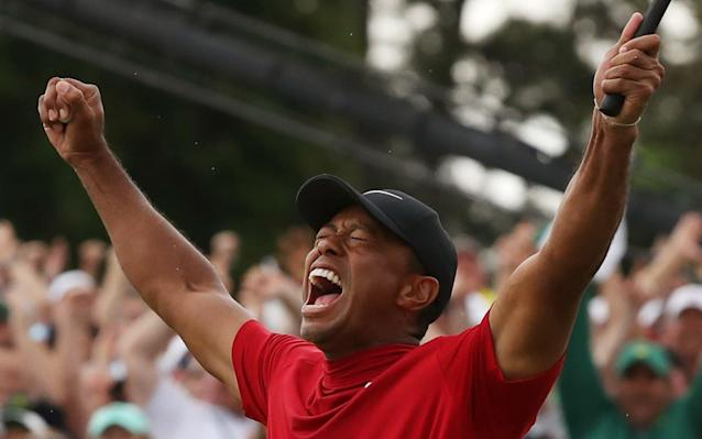 Tiger Woods won his first major in 11 years - REUTERS
