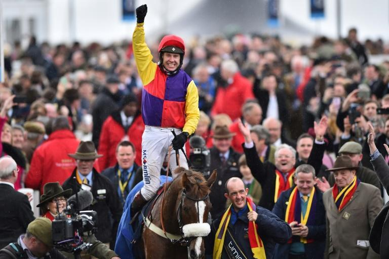 Richard Johnson's second Cheltenham Gold Cup win was a bold front-running display by Native River in 2018