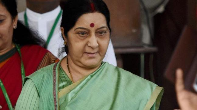 On Sunday, the Congress party took on a section of social media, who attacked External affairs minister Sushma Swaraj and the ministry, over a controversy involving the issuance of passport to an inter-faith couple.