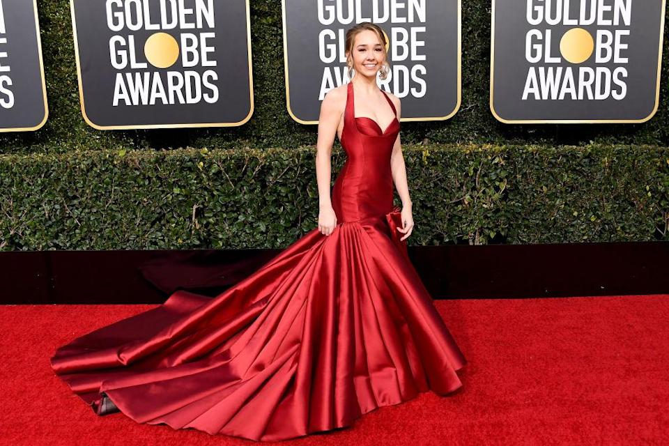 <p>Holly Taylor attends the 76th Annual Golden Globe Awards at the Beverly Hilton Hotel in Beverly Hills, Calif., on Jan. 6, 2019. (Photo: Getty Images) </p>