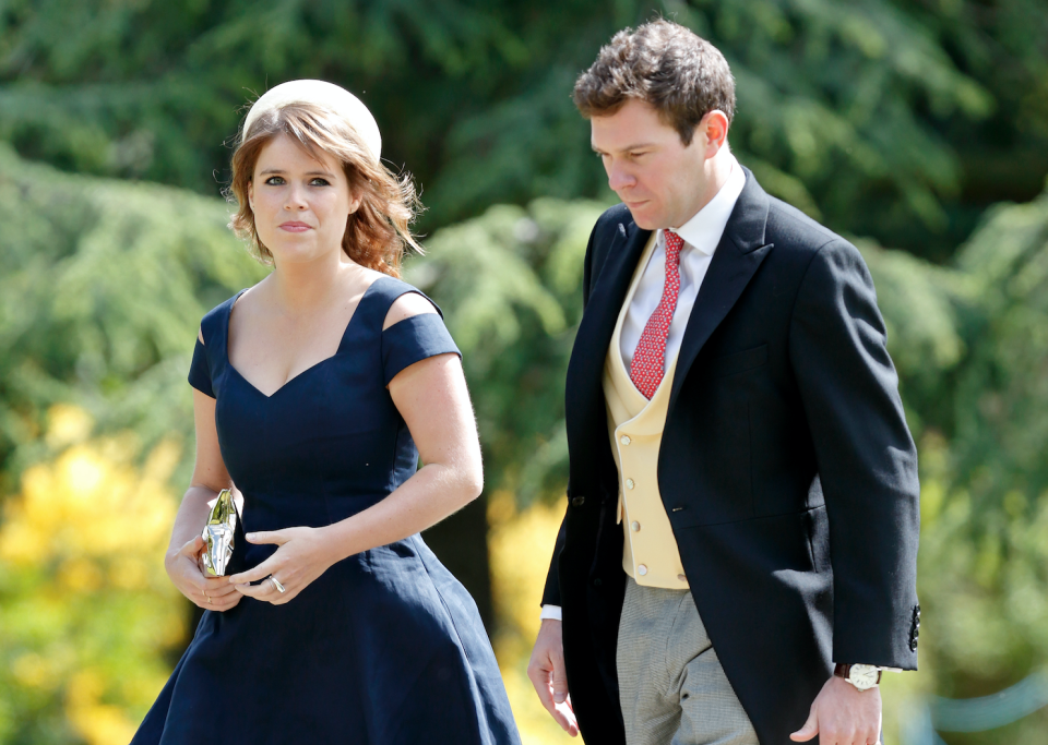 Princess Eugenie apparently had to delay the announcement of her engagement to Jack Brooksbank because of Prince Harry and Meghan Markle's wedding. Photo: Getty Images