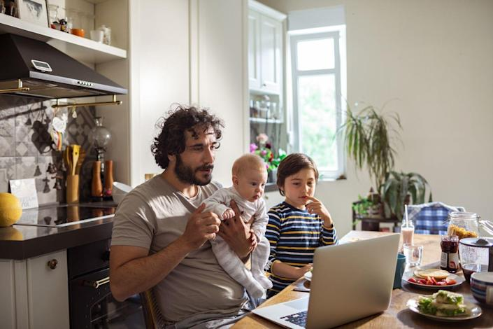 """<p>If Dad is a foodie, he'll love this. Airbnb offers <a href=""""https://www.airbnb.com/s/experiences/online"""" rel=""""nofollow noopener"""" target=""""_blank"""" data-ylk=""""slk:Online Experiences"""" class=""""link rapid-noclick-resp"""">Online Experiences </a>that you can enjoy from your own home, so he and the kids can learn to make <a href=""""https://www.airbnb.com/experiences/1661135"""" rel=""""nofollow noopener"""" target=""""_blank"""" data-ylk=""""slk:Mexican street tacos with a professional chef"""" class=""""link rapid-noclick-resp"""">Mexican street tacos with a professional chef</a> or <a href=""""https://www.airbnb.com/experiences/1610894"""" rel=""""nofollow noopener"""" target=""""_blank"""" data-ylk=""""slk:pasta with an Italian grandma"""" class=""""link rapid-noclick-resp"""">pasta with an Italian grandma</a>. Bon appetit!</p>"""