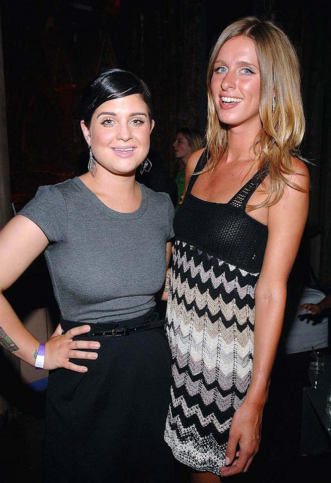 Kelly Osbourne looks fabulous as she and Nicky Hilton pose for a cute picture at the Sephora ten-year anniversary party in New York City. Jamie McCarthy/ WireImage.com - July 17, 2008