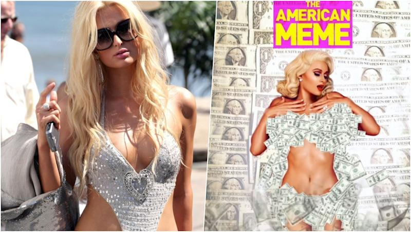 Paris Hilton Goes Nude, Covers Her Assets with Heaps of Money on Instagram Post, See Pic