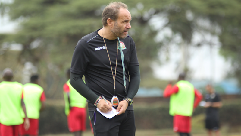 Sebastien Migne: Former Harambee Stars head coach proud of work done