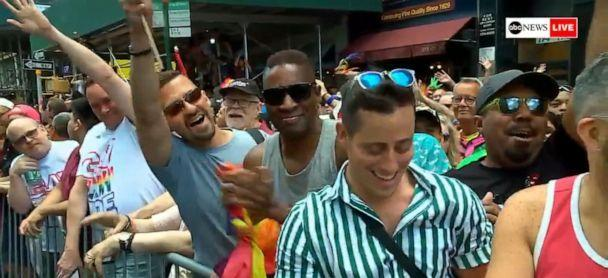 Army specialist comes out during live broadcast of NYC Pride parade