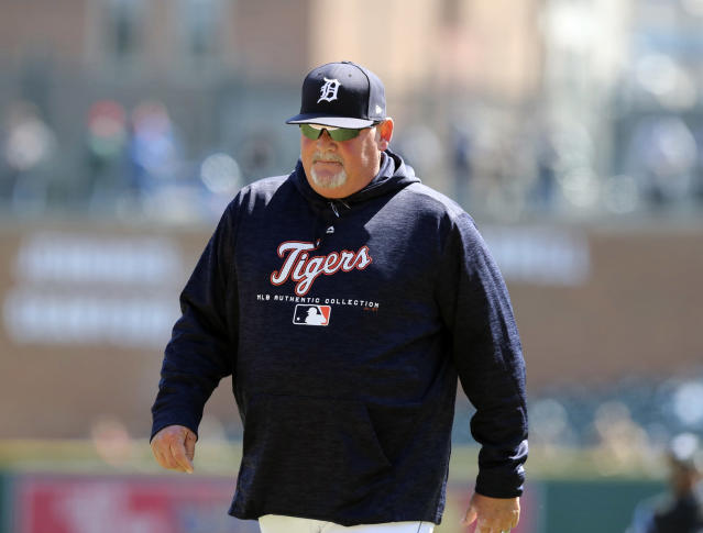 "Former <a class=""link rapid-noclick-resp"" href=""/mlb/teams/det"" data-ylk=""slk:Tigers"">Tigers</a> pitching coach Chris Bosio was reportedly fired for directing a racial slur at a clubhouse attendant. (AP)"