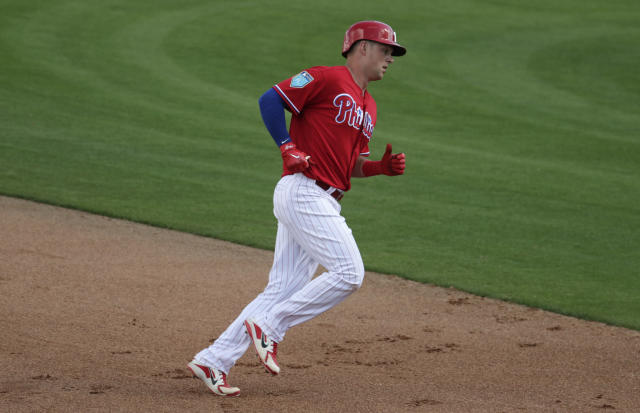 What can Hoskins do for an encore? (AP/Lynne Sladky)
