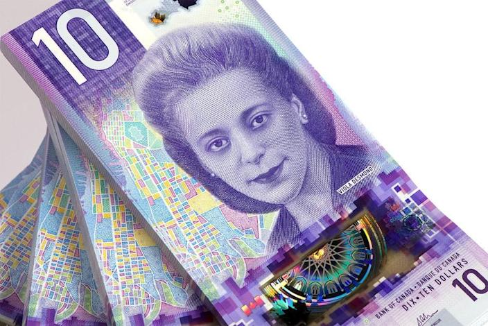 $10 bank note featuring Viola Desmond (Photo: CNW Group/Bank of Canada)