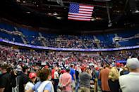 Turnout at Trump's Tulsa rally were far below expectations, with TikTok and K-pop fans taking credit