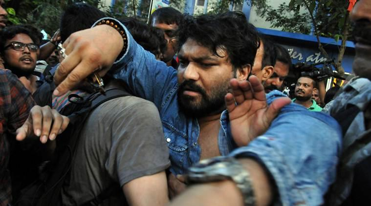 kolkata artists on babul surpiyo violence, kolkata artists on kolkata protests, babul supriyo attacked at jadavpur university, kolkata city news, indian express news