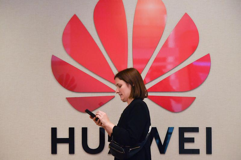 Huawei devices could no longer receive updates or be able to access software from Google (Getty)