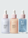 """Serums are an integral part of a good skin-care routine. They're small but mighty solutions with unique purposes depending on their active ingredients, and should be applied directly after cleansing. If you've yet to explore the world of serums, this trio is a great place to start—and the little pastel bottles happen to look beautiful on your bathroom counter too. <em>—T.A.</em> $84, Glossier. <a href=""""https://www.glossier.com/products/super-pack"""" rel=""""nofollow noopener"""" target=""""_blank"""" data-ylk=""""slk:Get it now!"""" class=""""link rapid-noclick-resp"""">Get it now!</a>"""