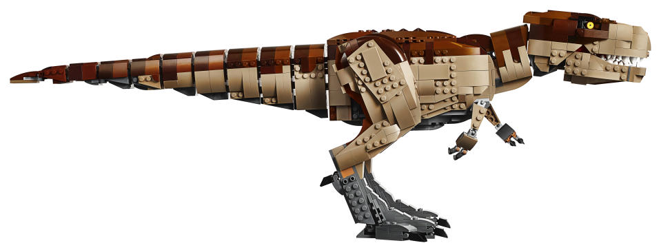 The T. rex measures more than 22cm high and 69cm long.