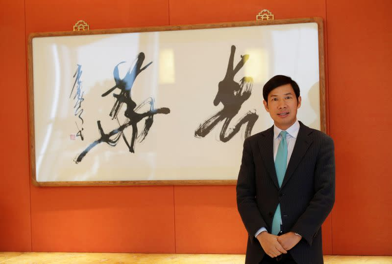 Fred Hu, Chairman of Primavera Capital Group, poses for a photo in Beijing
