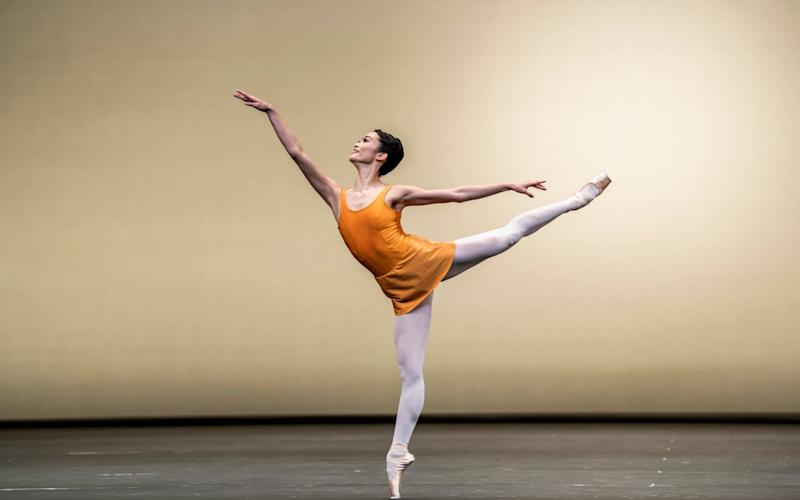 A scene from Kenneth MacMillan's Concerto from the Royal Opera House - Tristram Kenton