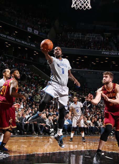 Nets beat Cavs 108-97 for 12th straight at home