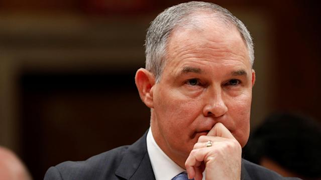 Scott Pruitt, the administrator of the Environmental Protection Agency, alluded earlier this week that global warming may be beneficial to humans, once again questioning the world's leading scientists who have declared the phenomenon one of the greatest known threats to humanity.