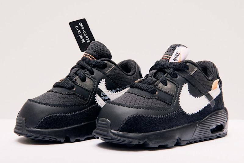 Virgil Abloh's Off White x Nike Air Max 90 Is Coming in Kids