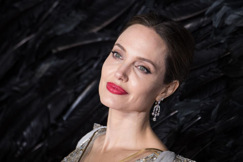 Angeline Jolie has penned an open letter to parents, pictured here at the Maleficent: Mistress Of Evil premiere in October 2019. (Getty Images)