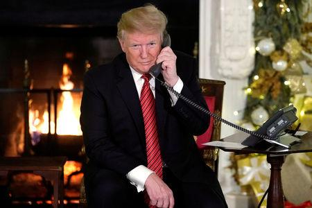 Trump says believing in Santa at 7 is 'marginal'