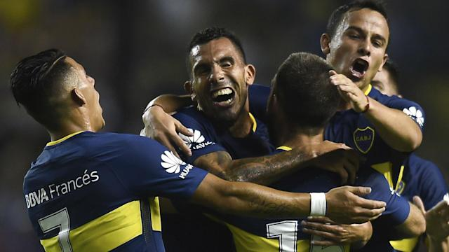Boca Colon Superliga 27012018