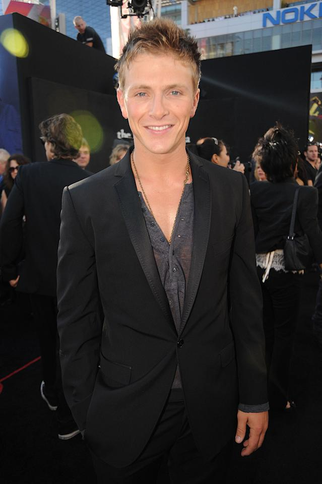 """<a href=""""http://movies.yahoo.com/movie/contributor/1810109908"""">Charlie Bewley</a> at the Los Angeles premiere of <a href=""""http://movies.yahoo.com/movie/1810074301/info"""">The Twilight Saga: Eclipse</a> - 06/24/2010"""