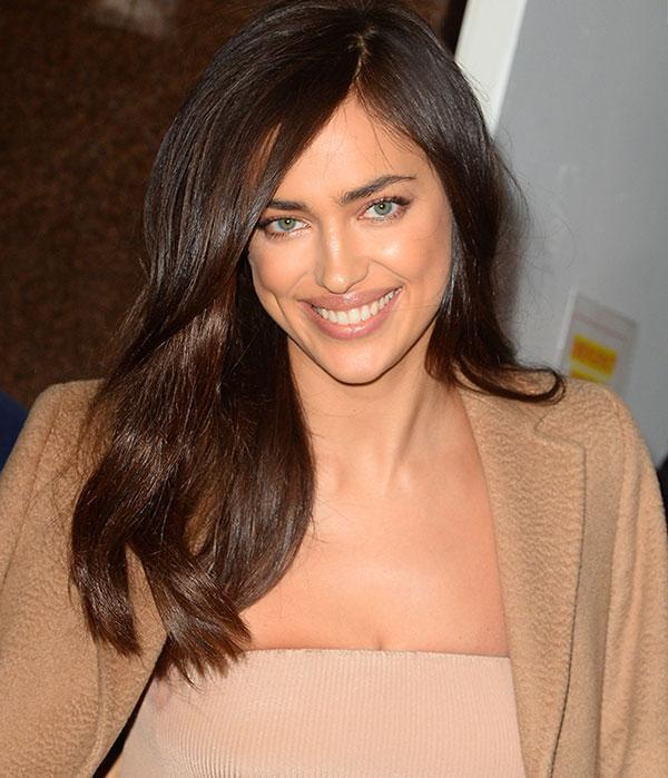 <br>Brunette beauty Irina Shayk just debuted a seriously-different new do on Instagram...