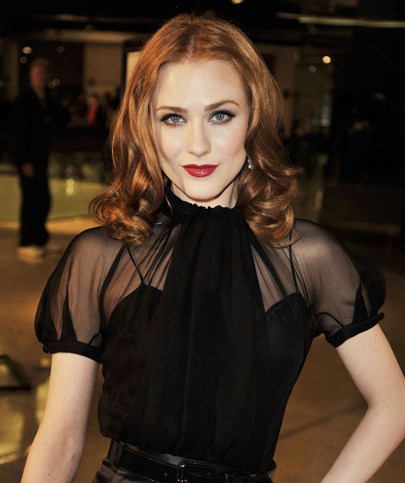 "<a href=""http://movies.yahoo.com/movie/contributor/1800021285"">Evan Rachel Wood</a> at the Los Angeles premiere of <a href=""http://movies.yahoo.com/movie/1810007788/info"">Whatever Works</a> - 06/08/2009"