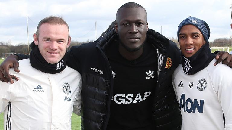 Image result for stormzy manchester united