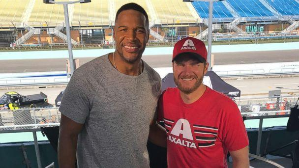 PHOTO: Dale Earnhardt Jr. opens up about retiring after his 18-year career with NASCAR in an exclusive interview with ABC News' Michael Strahan. (ABC News)